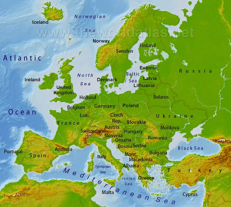 blank map of europe 2011. textbooks,europe blank map